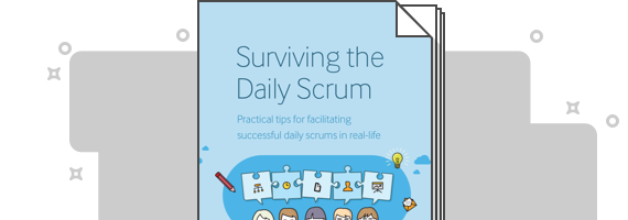 Surviving the Daily Scrum cover