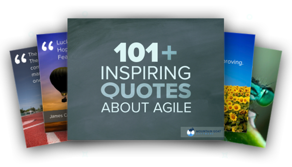 101 Ways to Get Inspired About Agile Image