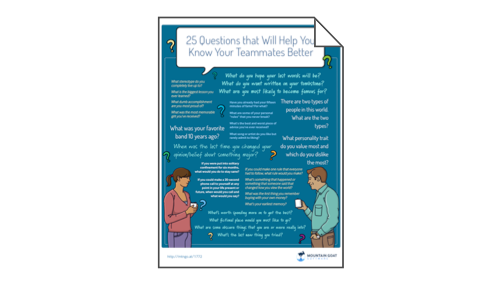 25 Questions to Help You Know Your Teammates Better