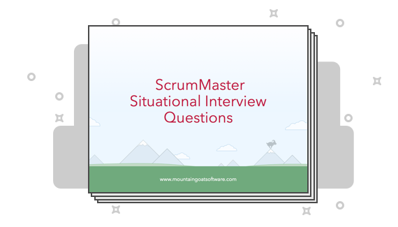 Get Your 12 Questions You Can Use in ScrumMaster Interviews eBook