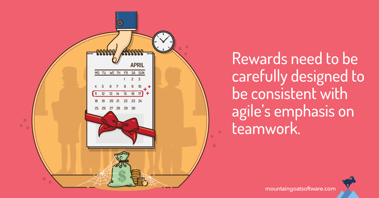 Rewarding scrum teams with time, money or days off