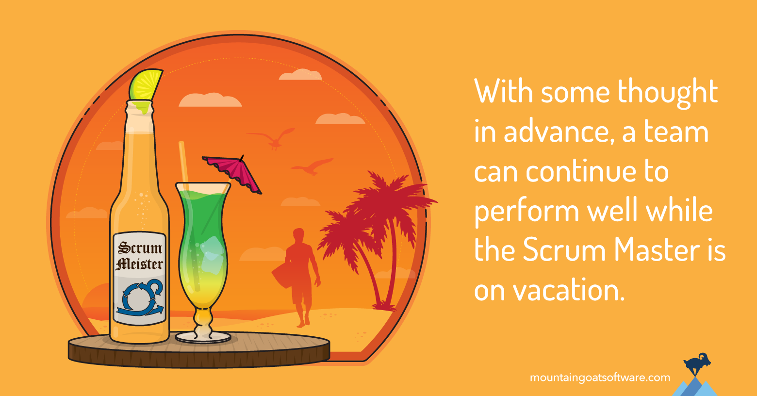 Four Things to Do Before the Scrum Master Goes on Vacation