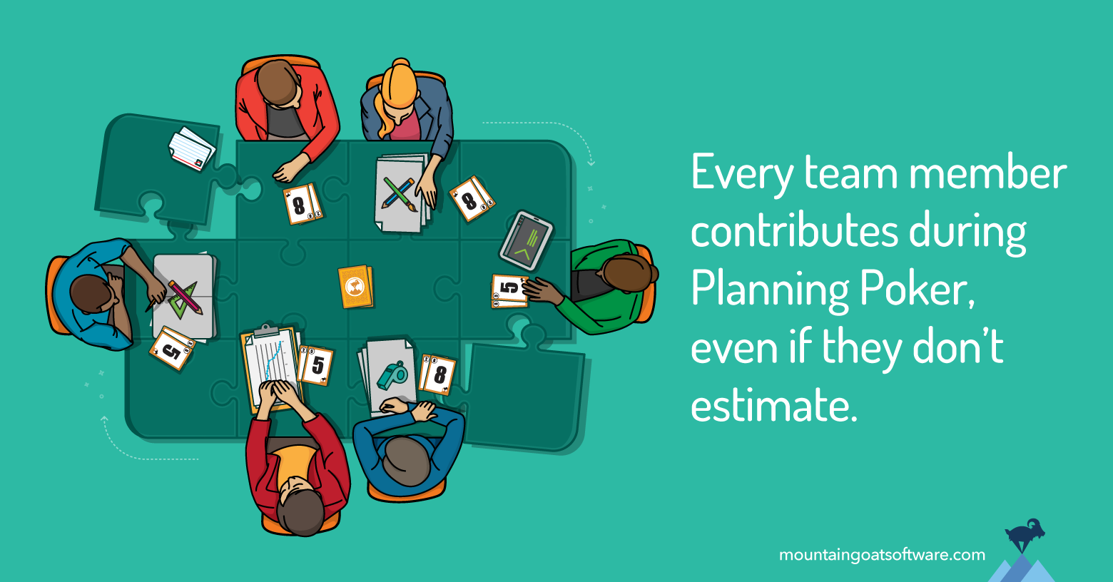 Why the Whole Team Should Participate When Estimating
