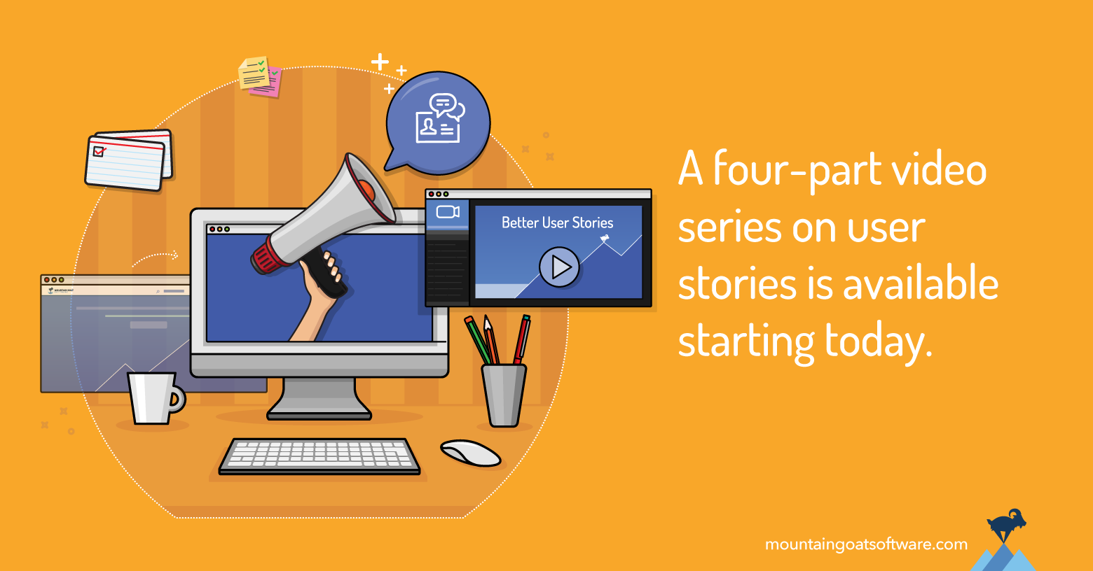 The FREE Better User Stories Mini-Course Returns Today