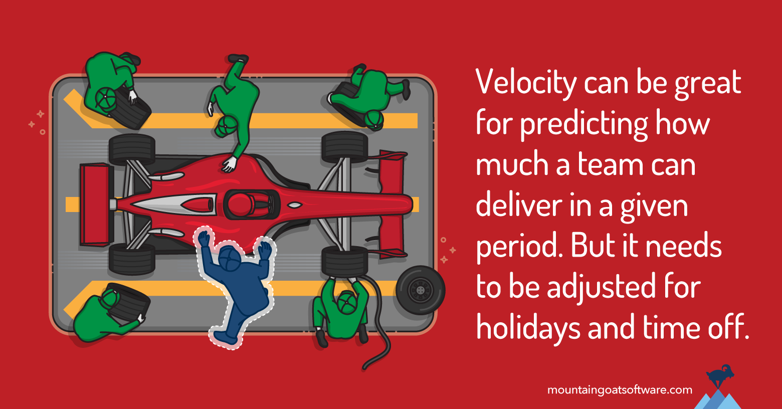 Three Approaches to Estimating the Impact of Holidays and Time Off on Velocity