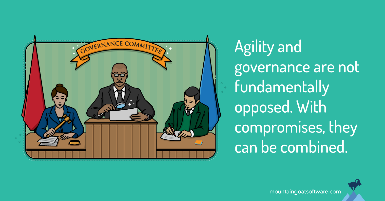 Incorporating Governance or Oversight into an Agile Project