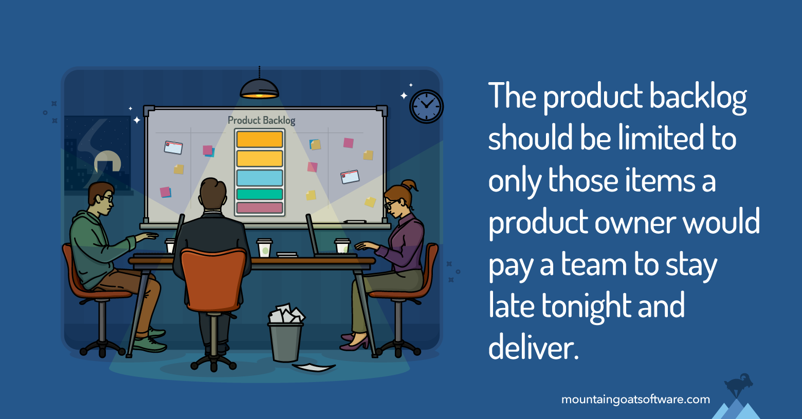 Four Steps to Keep Your Product Backlog Small and Manageable