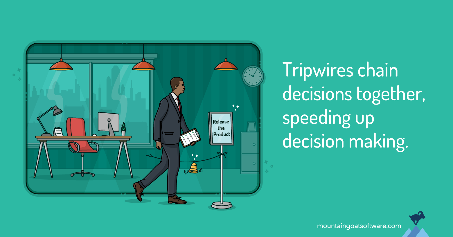 Using Tripwires when Making Decisions