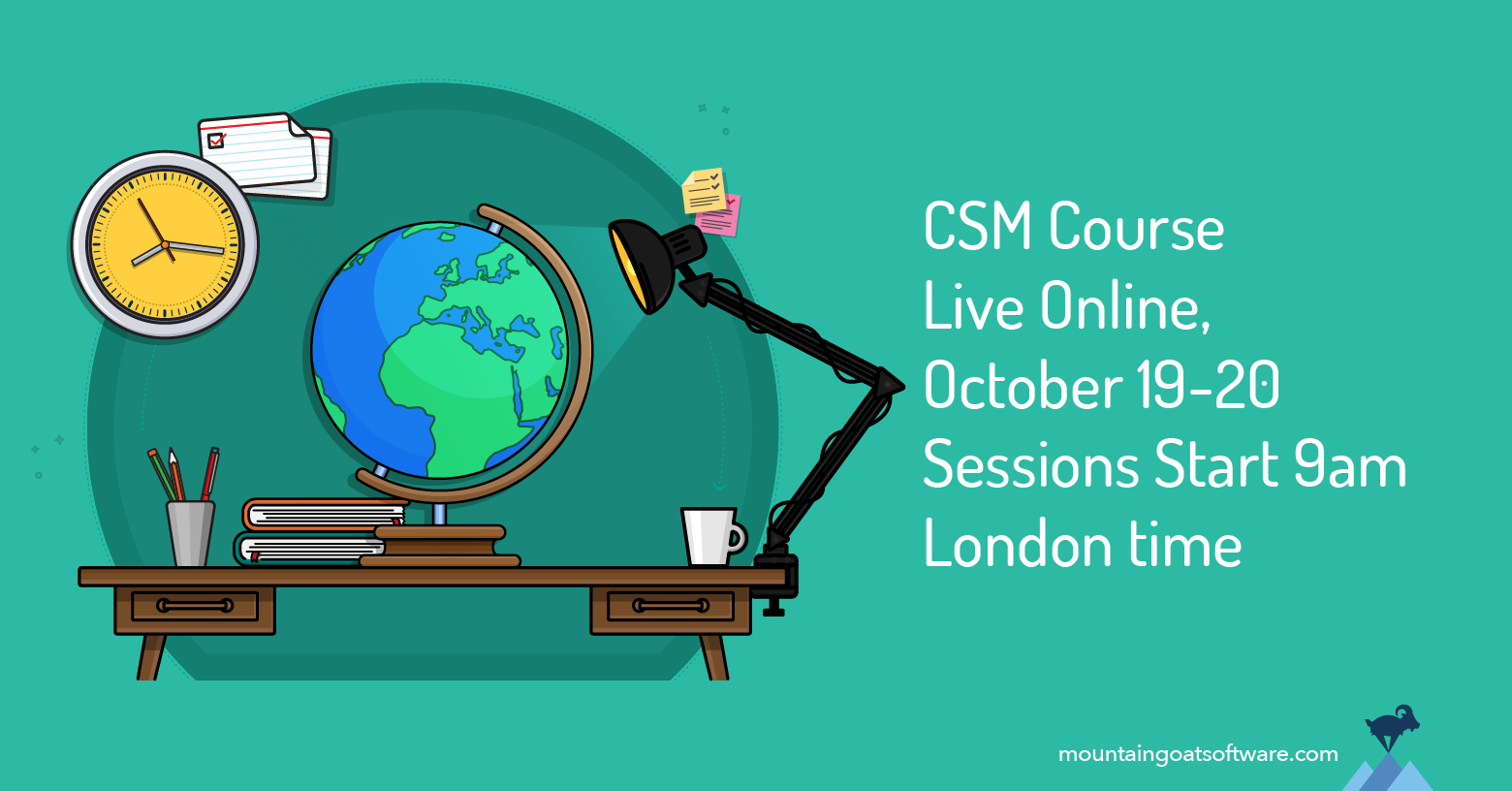 A European Time Zone Virtual CSM Course in October