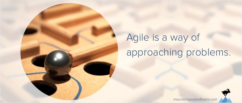 Applying Agile Beyond Software Development