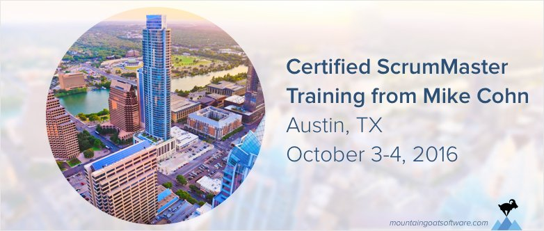 Announcing My First Certified Scrum Master Course in Austin