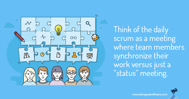 Daily Scrum: Not Just for ScrumMasters