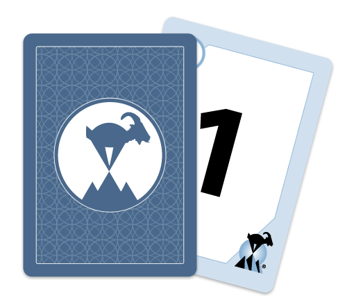 Blue Planning Poker Cards